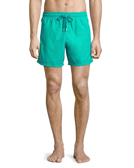 Vilebrequin Moorea Sardine Water Reactive Swim Trunks