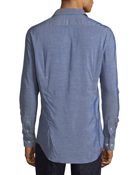 Chambray Long-Sleeve Shirt