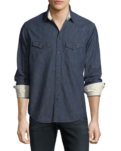 Beck Denim Western Shirt
