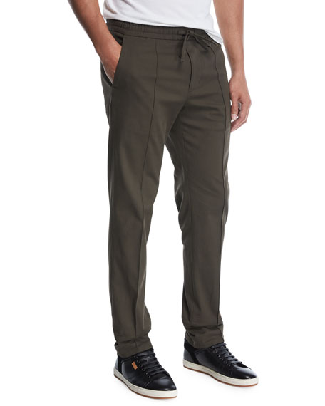 Wool Track Trousers