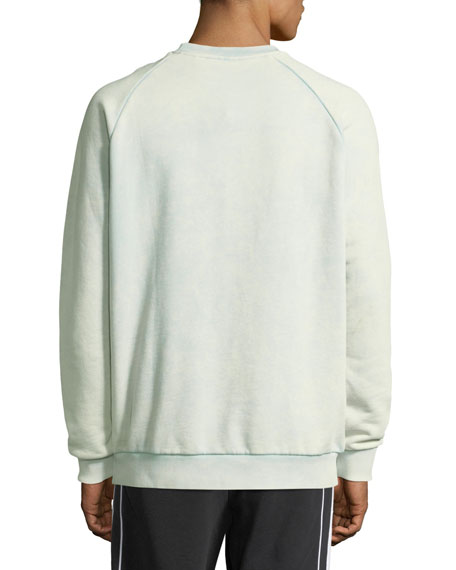 Trefoil Warm-Up Sweatshirt, Light Green