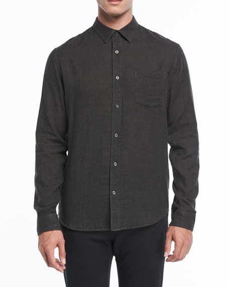 Vince Double-Face Sport Shirt