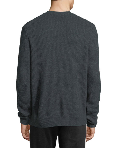 Cashmere Thermal Crewneck Sweater