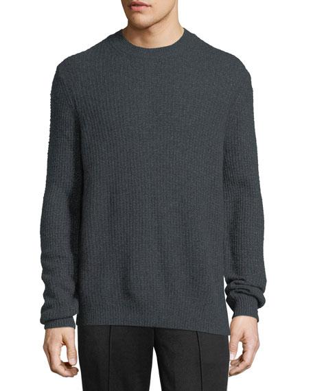 Cashmere Thermal Crewneck Sweater
