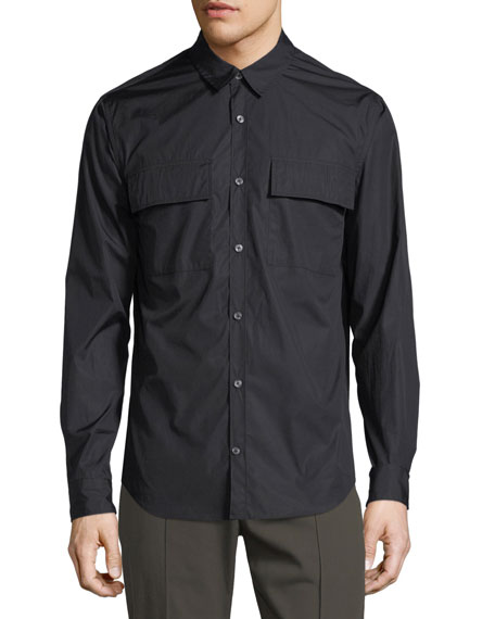 Military Long-Sleeve Sport Shirt