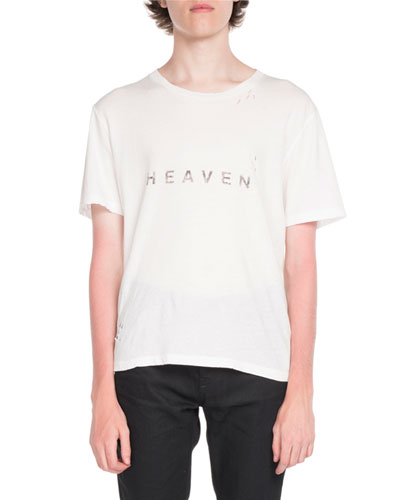 Heaven Typographic T-Shirt