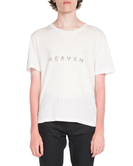 Heaven Typographic T-Shirt