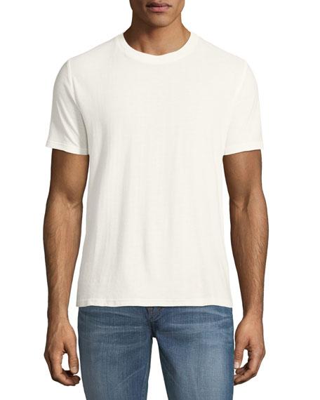 Saint Laurent 1971 Logo-Back Cotton T-Shirt