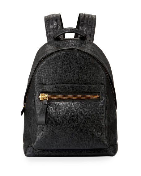 Textured Leather Backpack