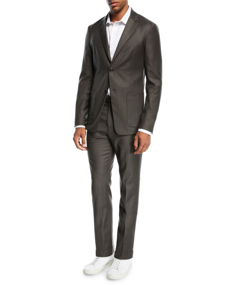 Simons Tailored Flannel Suit Jacket