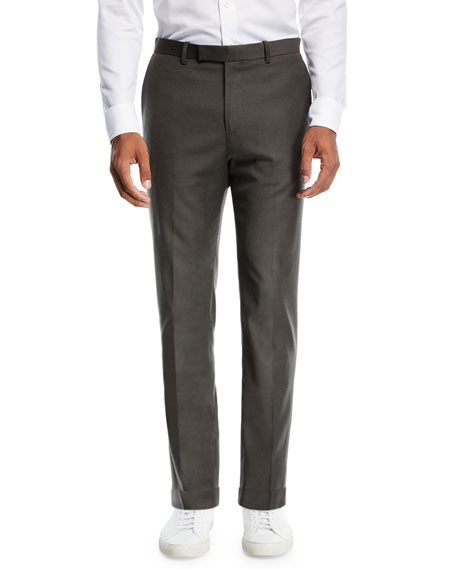 Zaine Tailored Flannel Suit Pants