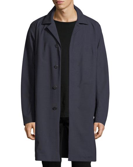 Modern Wool-Blend Coat