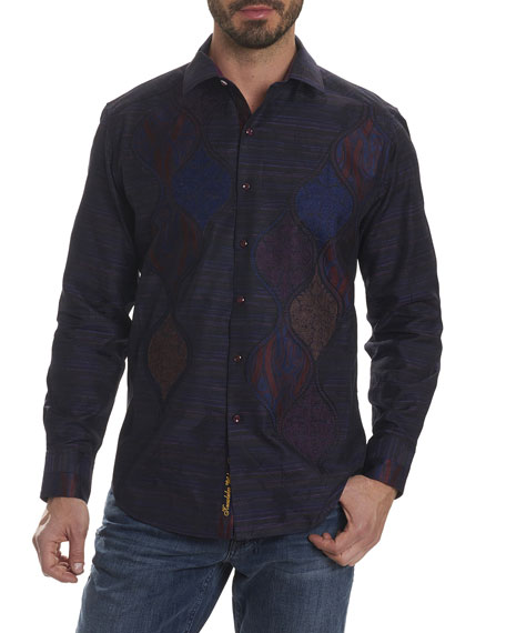 Robert Graham Limited Edition Hour Glass Sport Shirt