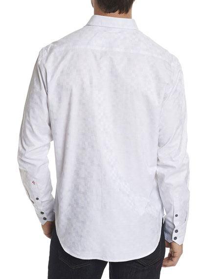 Transient Jacquard Sport Shirt