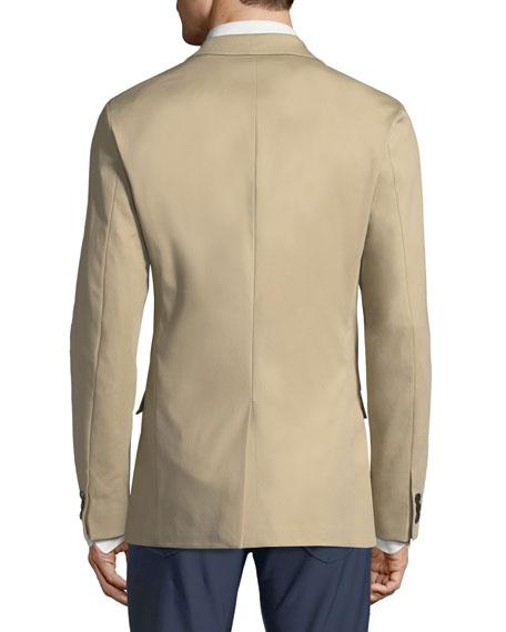 Simon Compact Stretch-Cotton Blazer