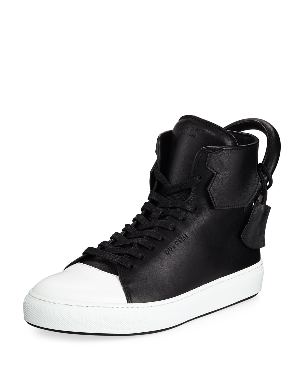 Buscemi Men s 125mm Leather High-Top Sneakers 0ad1f44fda1c