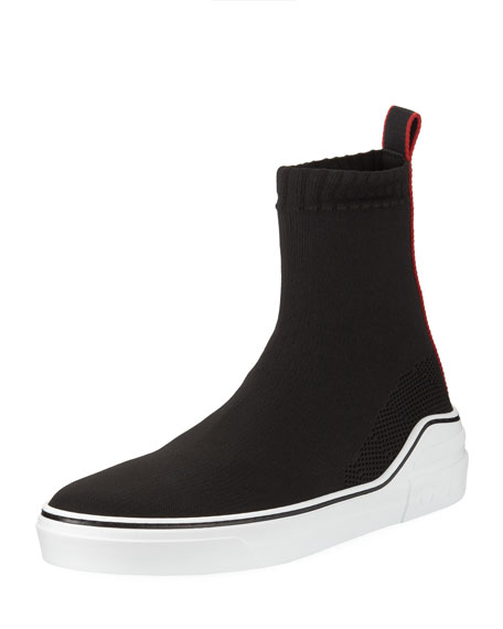 Givenchy George V High-Top Sock Sneaker
