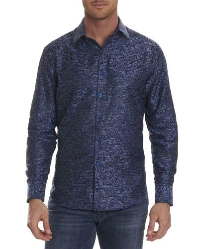 Tern Digital-Textured Sport Shirt