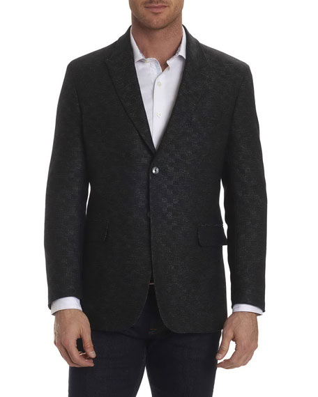 Robert Graham Gingham-Stitch Sport Coat