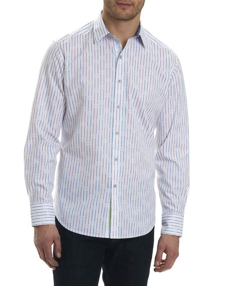 Robert Graham Bora Striped Sport Shirt