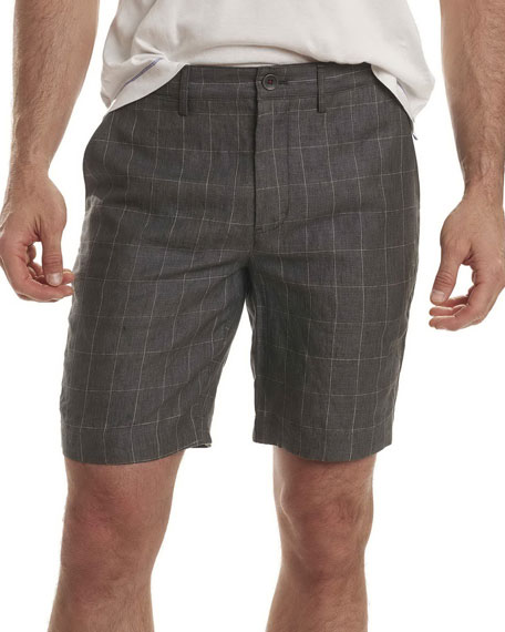 Robert Graham Storm Plaid Dress Shorts