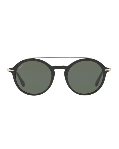 PO3172S Acetate Pilot Sunglasses