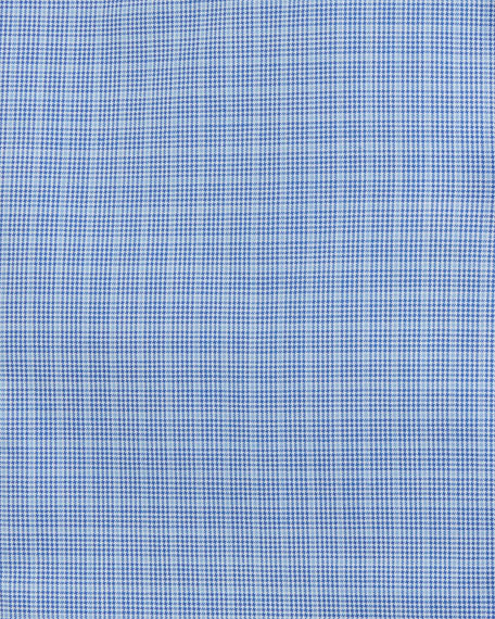 Micro-Glen Plaid Check Dress Shirt
