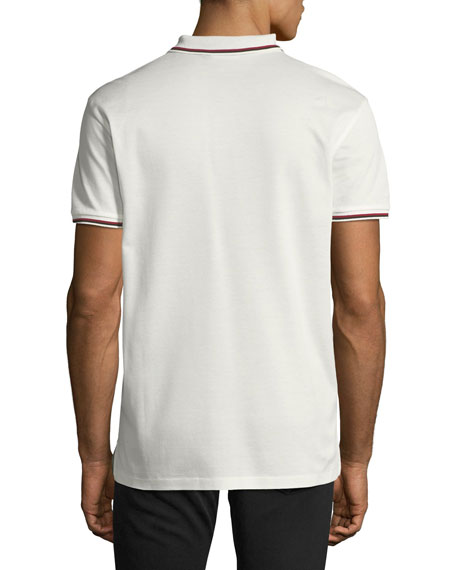Contrast-Tipped Polo Shirt