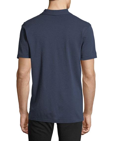 Jersey Pocket Polo Shirt, Navy