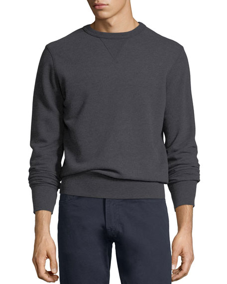 Crewneck Heathered Sweatshirt