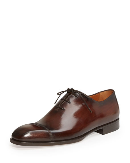 Berluti Rapiece-Reprise Scritto Oxford, Brown