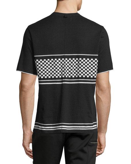 Checker Jersey T-Shirt