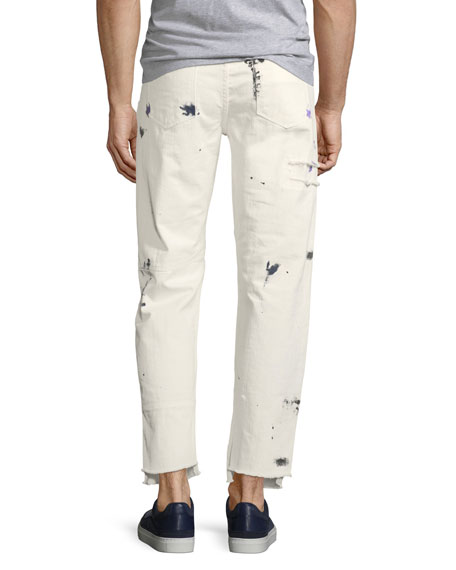 OS-2 Patch Painter Straight-Leg Jeans