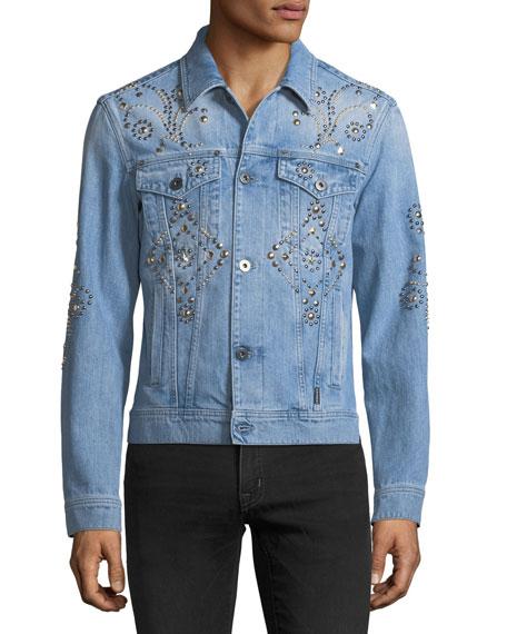Studded Denim Jacket