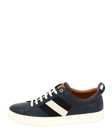 Men's Helvio Low-Top Leather Sneakers