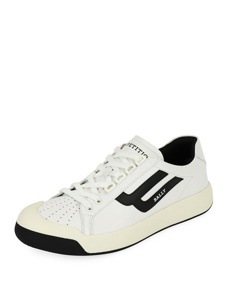 Bally New Competition Retro Low-Top Sneaker