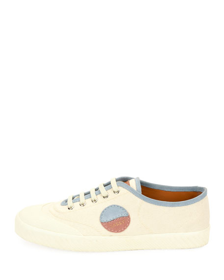 Men's Silo Retro Low-Top Canvas Sneakers