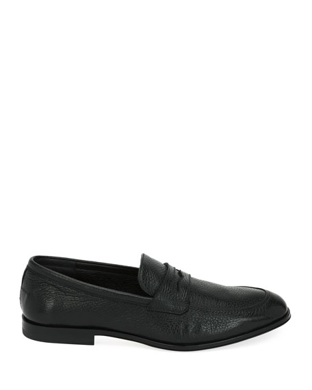 Webb Leather Penny Loafer