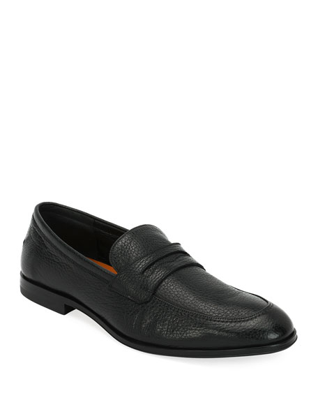 Bally Webb Leather Penny Loafer