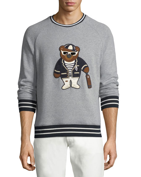 Teddy Bear Graphic Sweatshirt