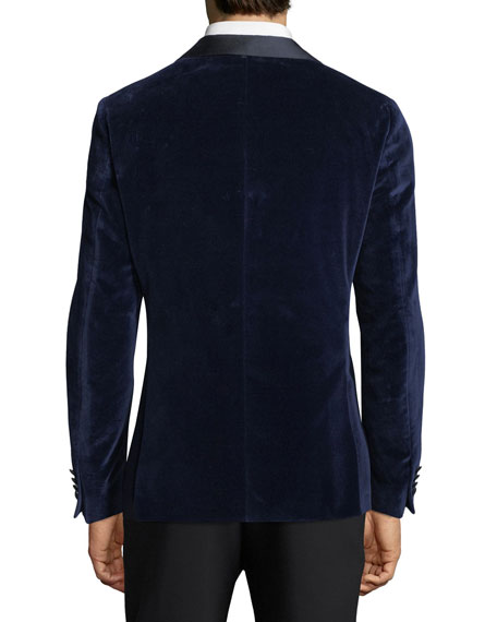 Cotton Velvet Dinner Jacket