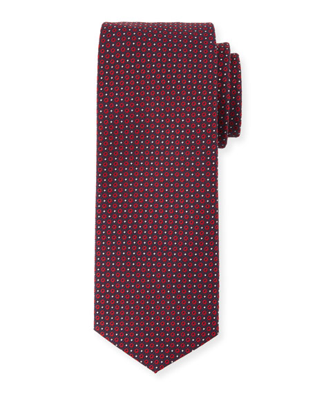 BOSS Neat Circle Silk Tie