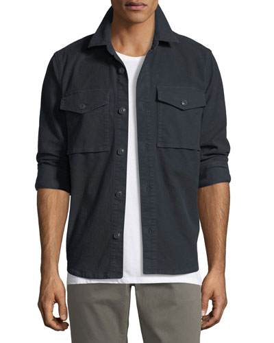 Muttnik Twill Shirt Jacket
