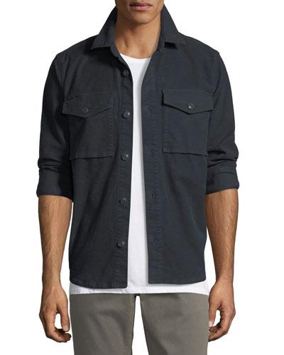 Muttnik Twill Shirt Jacket