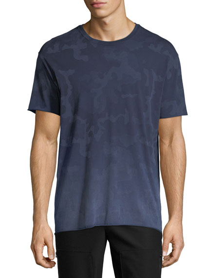 ATM Anthony Thomas Melillo Camouflage-Print Crewneck T-Shirt