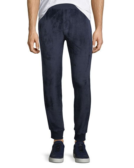 ATM Anthony Thomas Melillo Velour Pull-On Sweatpants