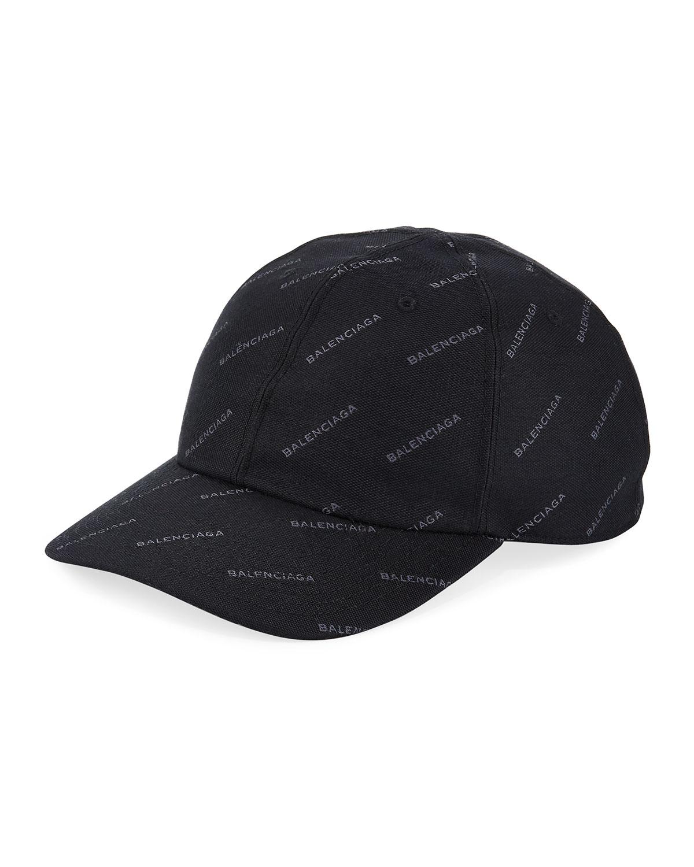 c91133b88f3 Balenciaga Logo Baseball Cap