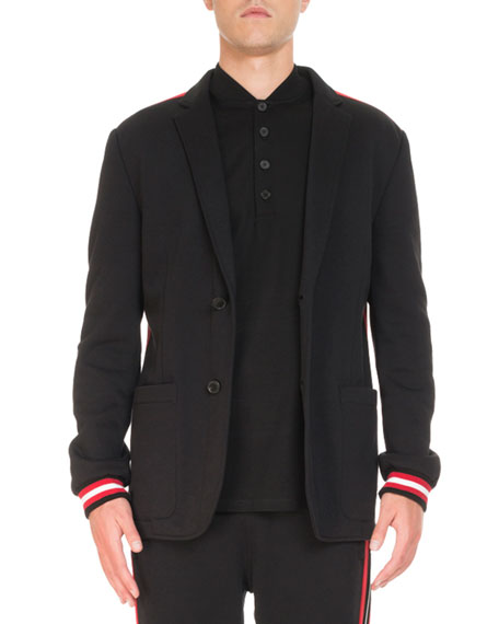 Deconstructed Jersey Jacket