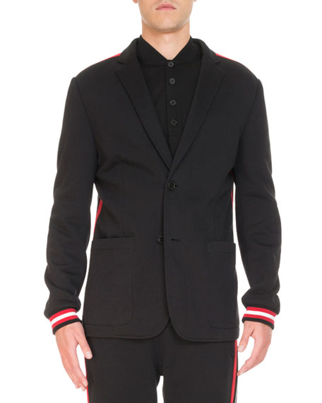 Givenchy Deconstructed Jersey Jacket