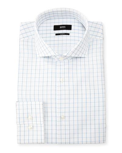 Tattersall Textured Dress Shirt